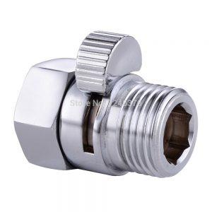 Free-shipping-Solid-brass-fontbconstructionbfont-G12-Shower-Head-Shut-Off-Valve-bidet-sprayer-Valve-Chrome-0
