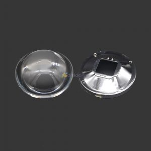 Freeshipping78mm-Transparent-Led-Optical-Glass-Lens-Reflector-5-90-Degree-82mm-Lens-Holder-for-High-fontbPowerbfont-LED-Lamp-Light-0