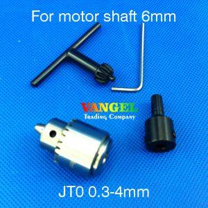 VANGEL-6mm-JT0-mini-drill-chuck-03-4mm-JT0-Used-for-motor-shaft-diameter-6mm-for-mini-pcb-drill-dremel-driver-Press-tool-0