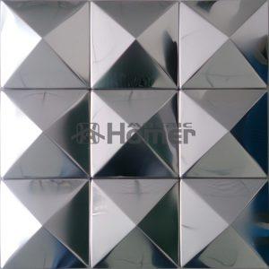 free-shipping-big-pyramid-100x100mm-silver-stainless-steel-metal-mosaic-fontbtilebfont-3D-convex-metal-mosaic-for-wall-0