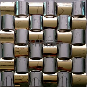 free-shipping-golden-and-grey-mixed-stainless-steel-metal-mosaic-wall-fontbtilebfont-3D-metal-mosaic-0